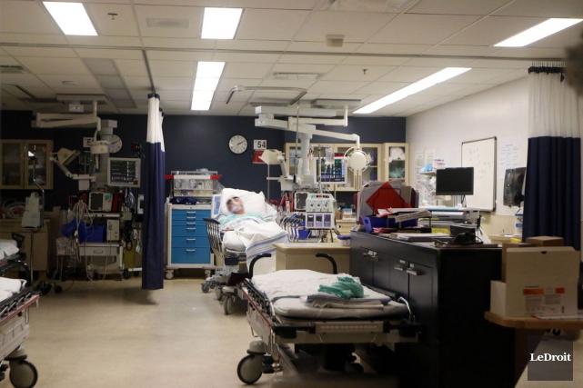 Malgré les compressions de 19,5 millions$ qui touchent l'ancien Centre de santé... (Étienne Ranger, Archives LeDroit)