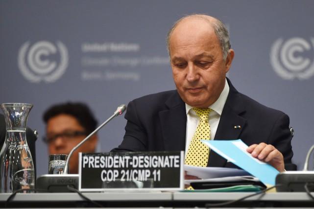 En début de session à Bonn, le ministre... (PHOTO PATRIK STOLLARZ, ARCHIVES AFP)