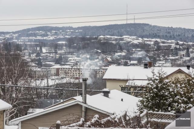 Les grands froids de l'hiver 2014 ont été favorables à Hydro-Sherbrooke, qui a... (Archives La Tribune, Jocelyn Riendeau)