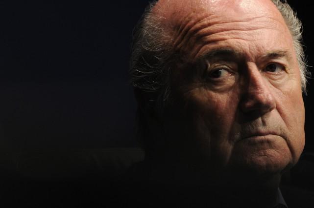 Le président démissionnaire de la FIFA, Joseph Blatter,... (PHOTO SEBASTIEN BOZON, ARCHIVES AGENCE FRANCE-PRESSE)