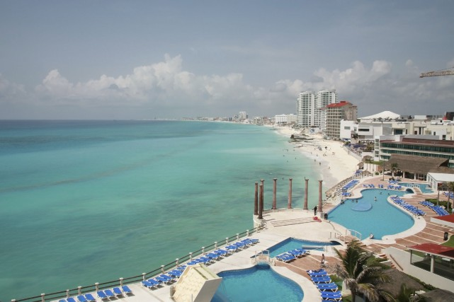 La ville Cancun au Mexique... (PHOTOS.COM)