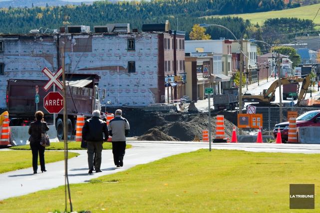 La voie est pavée pour que les victimes de la tragédie de Lac-Mégantic puissent... (Archives La Tribune, Jessica Garneau)