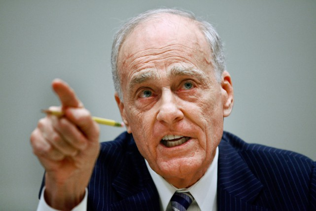 Vincent Bugliosi à Washington en juillet 2008.... (Archives AFP)