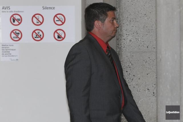 André Simard souhaite un acquittement dans son dossier... ((Photo Le Quotidien, Michel Tremblay))