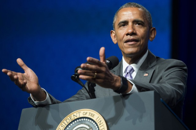 Les propos de Barack Obama semblaient implicitement adressés... (Photo: AFP)