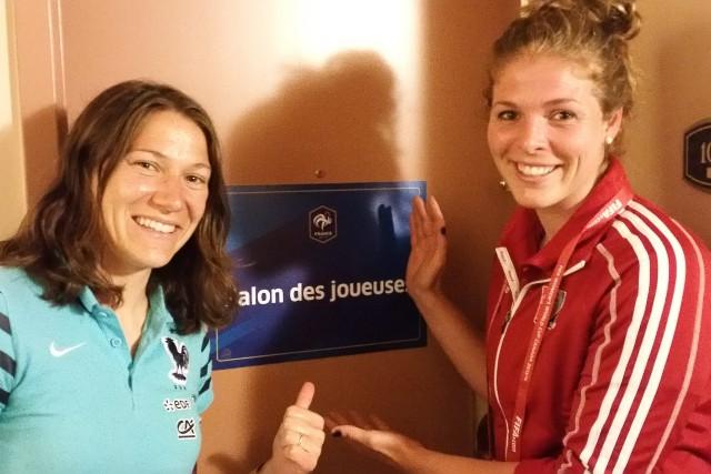 Manon Bordeleau s'estime chanceuse d'être associée à l'équipe... ((Courtoisie))