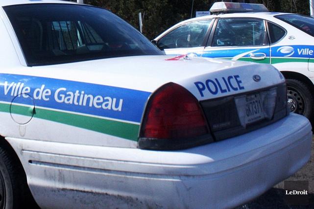 Les policiers de Gatineau sont à la recherche d'un suspect impliqué dans une... (Archives, LeDroit)