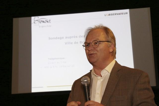 Jacques Pelletier, président de la firme l'Observateur, a... (photo Janick Marois)
