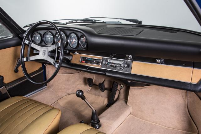 La division des pièces vintage Porsche Classique offre un tableau de bord au... (Photo fournie par Porsche Classique)