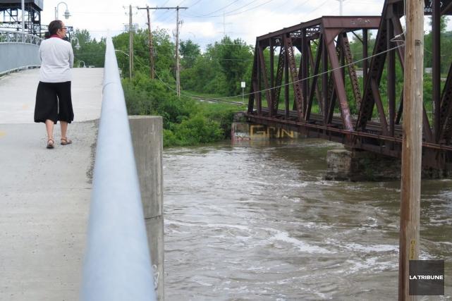 Le niveau des rivières était à la hausse,... (Imacom, René Marquis)