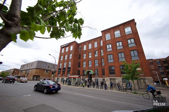 Les bureaux d'Ubisoft à Montréal.... (PHOTO ANDRÉ PICHETTE, ARCHIVES LA PRESSE)