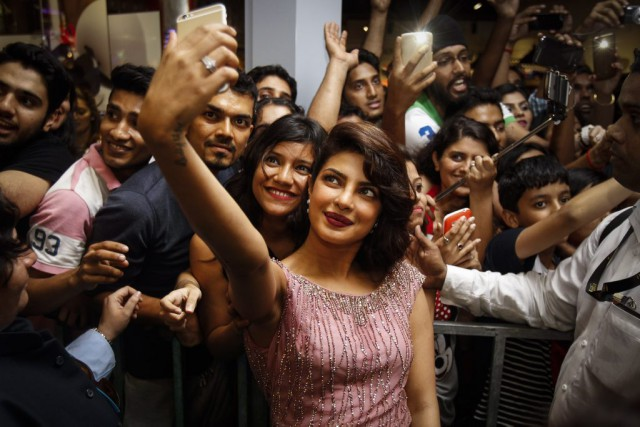 L'actrice de Bollywood Priyanka Chopra fera ses débuts... (Photo Joshua Paul, Archives AP)