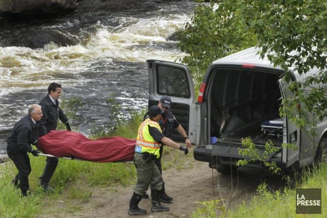 Le pêcheur de 26 ans qui s'est noyé dans la rivière des Ha! Ha! lundi, à La... (Michel Tremblay)