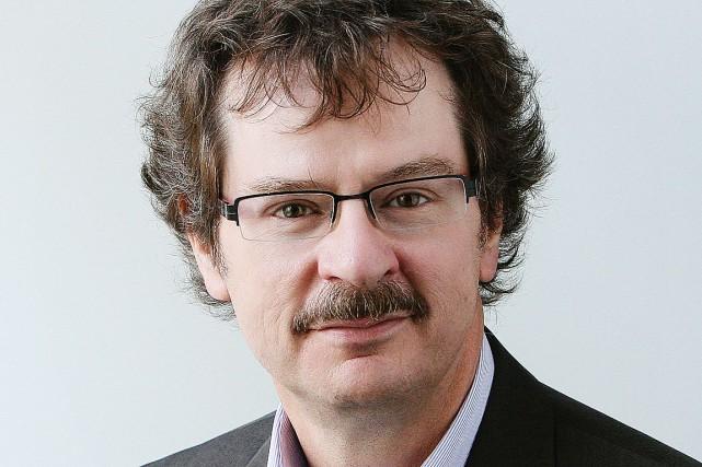 Pierre-Paul Noreau, nouveau président et éditeur du quotidien...