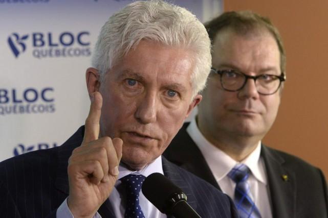 Gilles Duceppe a dit avoir été ému par... (La Presse Canadienne, Ryan Remiorz)