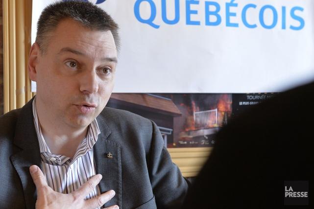 André Bellavance... (Archives La Presse)