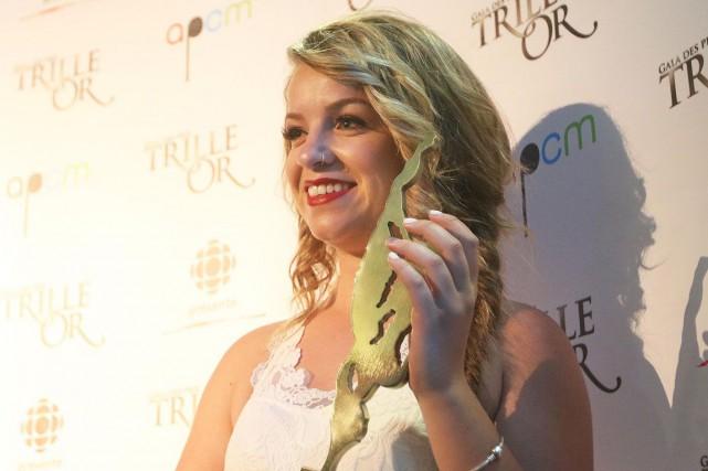 Gabrielle Gouleta remporté plusieurs prix ces dernières années.... (Étienne Ranger, LeDroit)