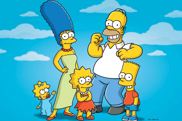 The Simpsons... (PHOTO ARCHIVES AP)