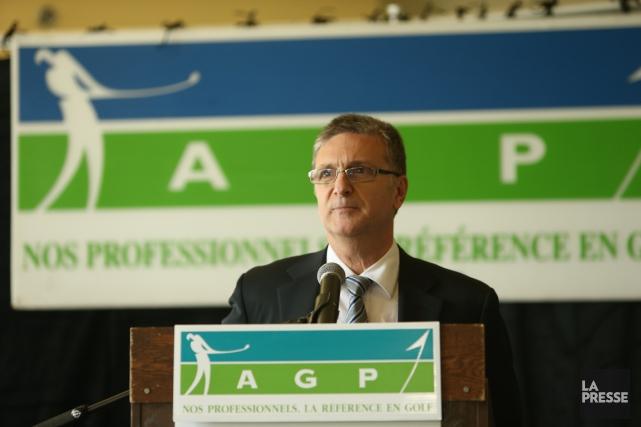 Le directeur général de l'Association des golfeurs professionnels... (Photo Martin Chamberland, archives La Presse)