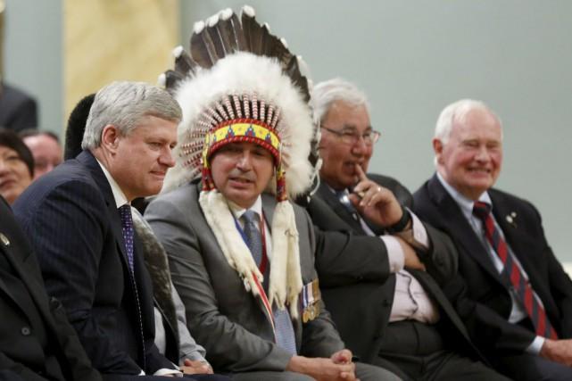 Perry Bellegarde, le chef de l'Assemblée des Premières... (Photo Blair Gable, Reuters)