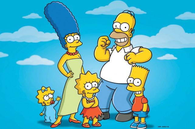 Le célèbre couple à la peau jaune Homer et Marge Simpson va divorcer après 25... (Photo: AP)