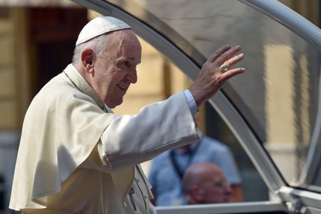 Le pape François.... (Photo: AFP)