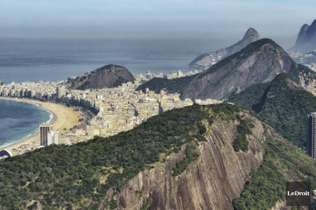 Rio de Janeiro... (Photo Patrick Woodbury, Le Droit)