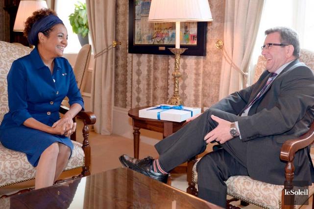 La secrétaire générale de l'Organisation internationale de la... (Le Soleil, Erick Labbé)