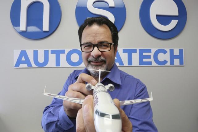 Le président et directeur général de NSE Automatech,... (photo Alain Dion)