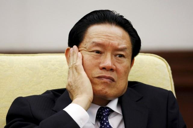 Aujourd'hui âgé de 72 ans, Zhou Yongkang, avait... (PHOTO JASON LEE, ARCHIVES REUTERS)