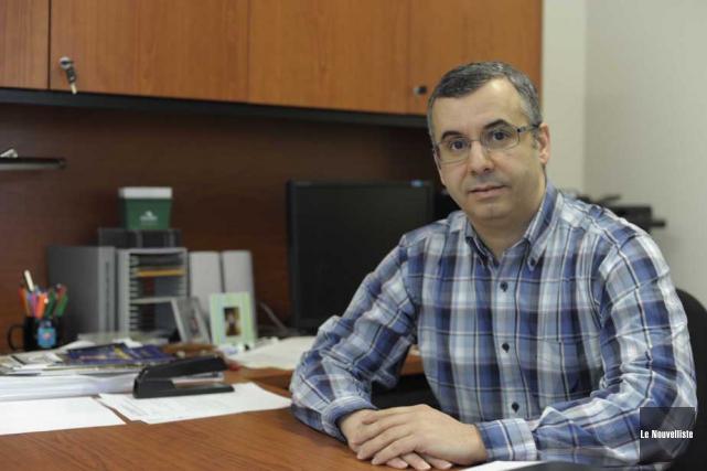 Ismaïl Biskri, président du SPPUQTR.... (Photo: Sylvain Mayer, Le Nouvelliste)