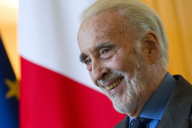 Christopher Lee... (Archives AP)