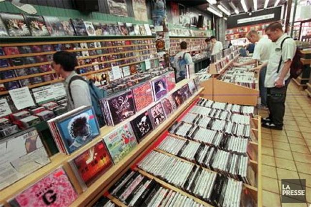 Les albums de musique sortiront désormais le vendredi, et ce à partir du 10... (PHOTO ALAIN ROBERGE, ARCHIVES LA PRESSE)