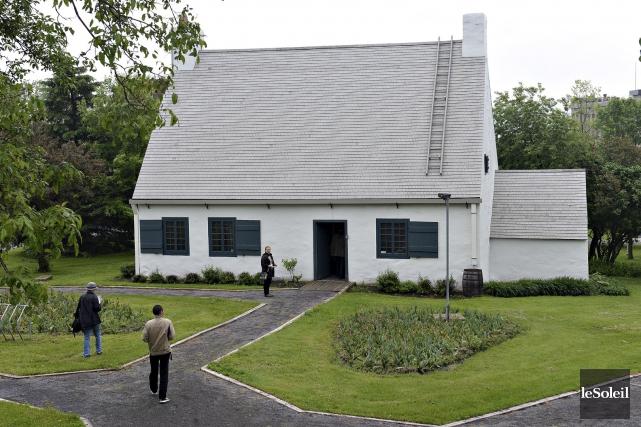 La Maison Girardin se distingue par son architecture... (Le Soleil, Patrice Laroche)