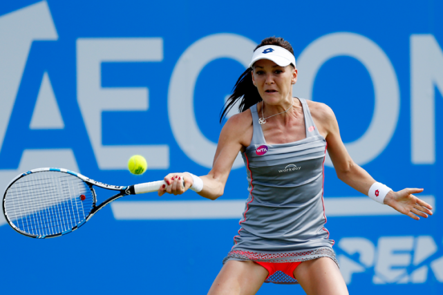Agnieszka Radwanska... (Photo Andrew Boyers, Reuters)