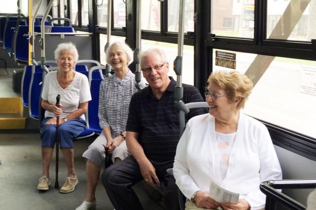 Accès transports viables a lancé jeudi TanGo, qui... (Photo fournie par Accès transports viables)
