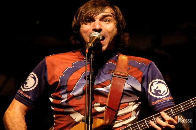 Vincent Peake fait revivre son groupe stoner rock... (Archives, La Presse)