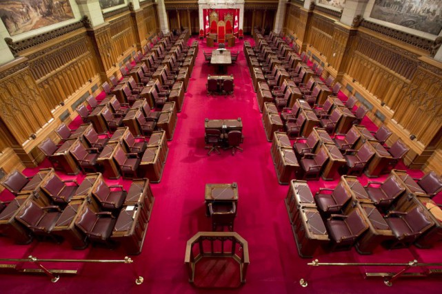 Le président du Sénat, Leo Housakos, a confirmé... (Photo Adrian Wyld, La Presse canadienne)