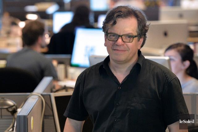 Gilles Carignan, nouvel éditeur adjoint et vice-président information... (Le Soleil, Yan Doublet)