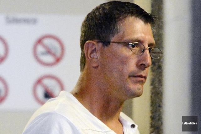 Larry Savard, l'un des invididus impliqués dans l'agression... ((Archives Le Quotidien))