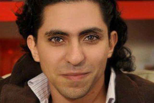 Raif Badawi... (PHOTO TIRÉE DE TWITTER)