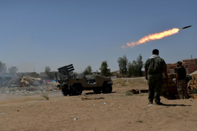 Sur le terrain irakien, plusieurs opérations militaires sont... (Photo Reuters)