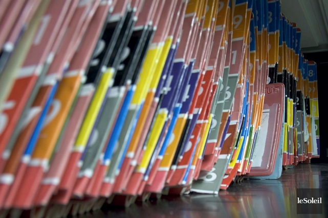 Environ 300 000 dossiers de patients du CHU... (Photothèque Le Soleil)