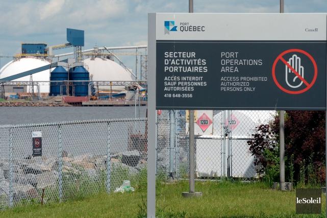 Le comportement des locataires des installations portuaires pose... (Le Soleil, Erick Labbé)