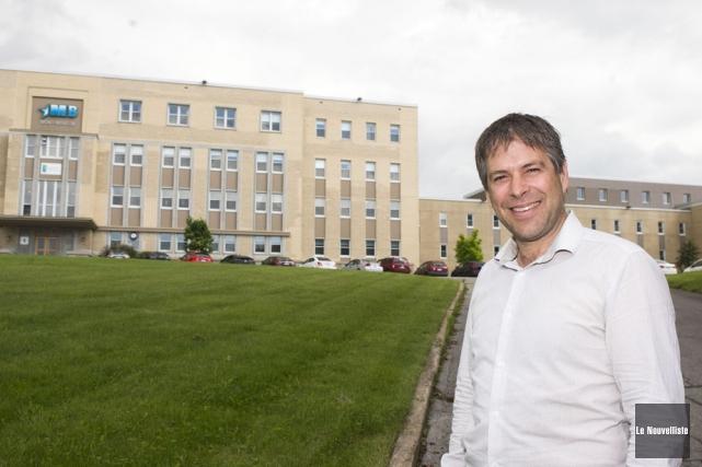 Le promoteur immobilier Steve Garceau entend transformer l'ancienne... (Photo: Stéphane Lessard, Le Nouvelliste)