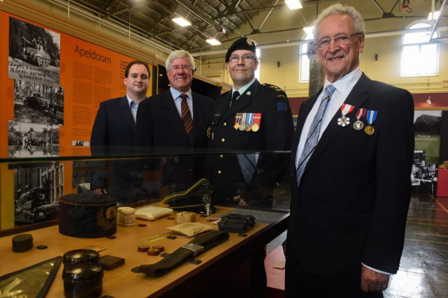 Le Musée militaire de Trois-Rivières a inauguré son...