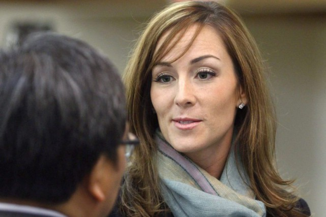 Amanda Lindhout, en 2010.... (PHOTO LARRY MACDOUGAL, ARCHIVES LA PRESSE CANADIENNE)