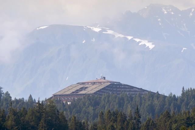 L'Interalpen-Hotel Tyrol, dans les Alpes autrichiennes.... (PHOTO CHRISTIAN BRUNA, AFP)