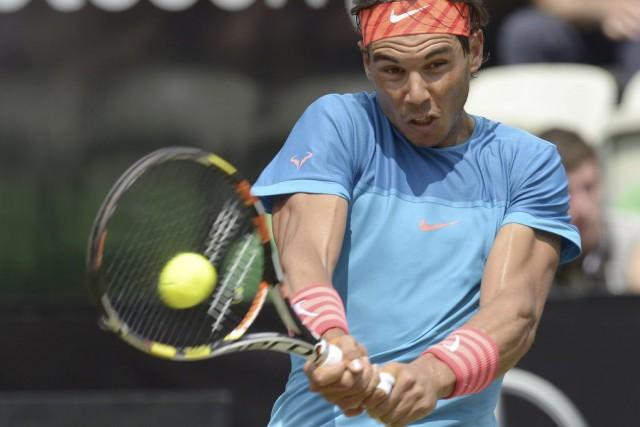 Rafael Nadal affronteraGaëlMonfils, un adversaire qu'il a battu... (PHOTO THOMAS KIENZLE, AFP)