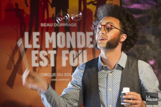 À un mois de la première du spectacleLe... (Photo: Ivanoh Demers, La Presse)